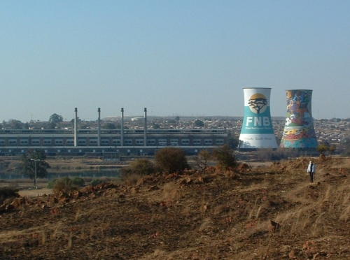 Orlando Towers in Soweto