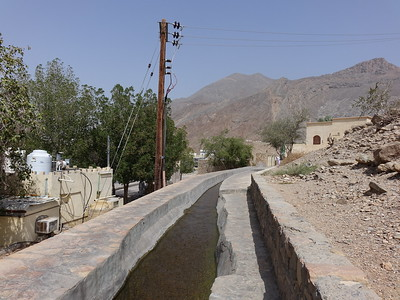 Aflaj irrigation system