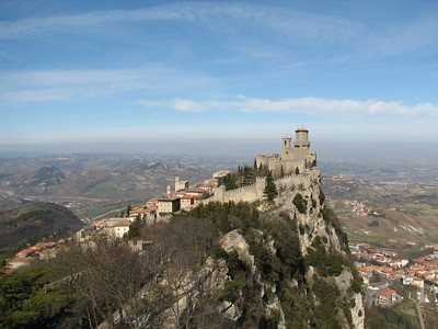 San Marino and Mount Titano