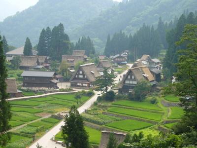 Shirakawa-go and Gokayama