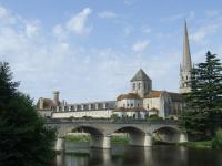 Saint-Savin sur Gartempe by John Booth