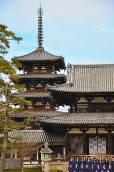 Horyu-ji Area by Frederik Dawson