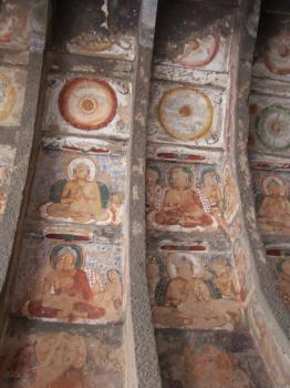 Ajanta Caves by Ian Cade
