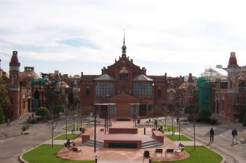 Palau de la Musica Catalana & Hospital de Sant Pau by Ian Cade