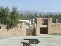 The forts of Rostaq and al-Hazm (T) by John Booth