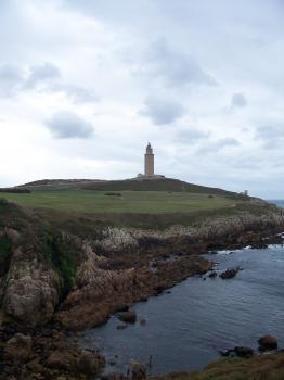 Tower of Hercules by Ian Cade