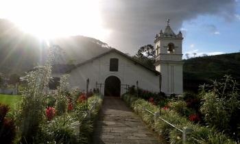 Church of Orosi (T) by Esteban Cervantes Jiménez