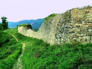 Ancient Mountain Fortresses in Central Korea (T) by Kyle Magnuson
