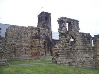 The Twin Monastery of Wearmouth Jarrow (T) by Ian Cade