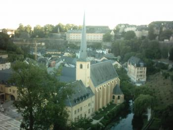 City of Luxembourg by Ian Cade
