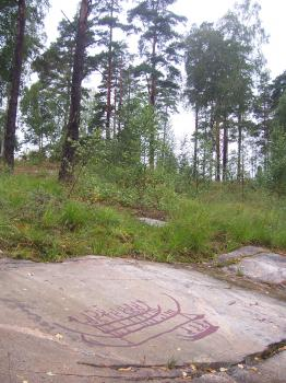 Rock Carvings in Tanum by Ian Cade