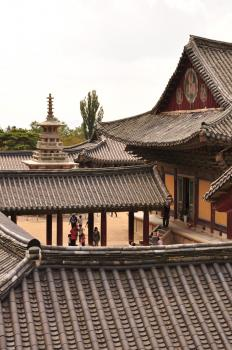 Seokguram Grotto and Bulguksa Temple by Frederik Dawson
