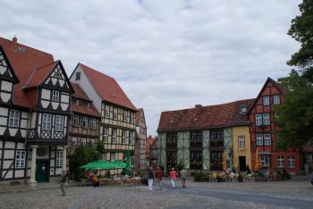 Quedlinburg by Hubert Scharnagl