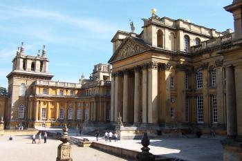 Blenheim Palace by Ian Cade