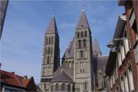 Notre-Dame Cathedral in Tournai by Thibault Magnien