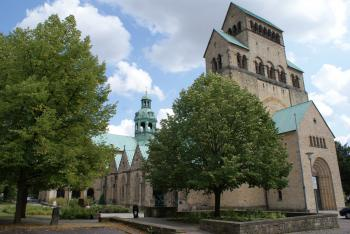 Hildesheim Cathedral and Church by Hubert Scharnagl
