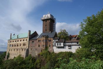 Wartburg Castle by Hubert Scharnagl