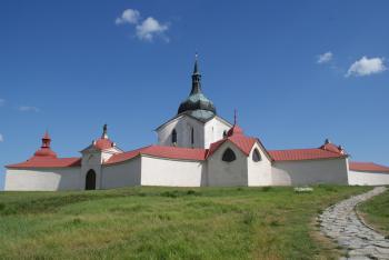 Pilgrimage Church of St. John of Nepomuk by Hubert Scharnagl