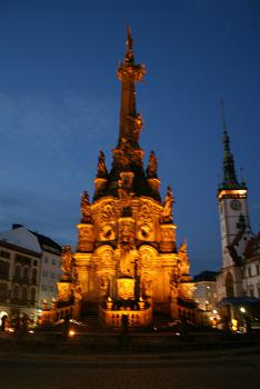 Holy Trinity Column by Hubert Scharnagl