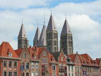 Notre-Dame Cathedral in Tournai by Clyde