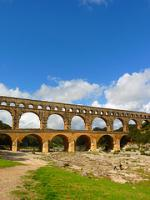 Pont du Gard by Clyde