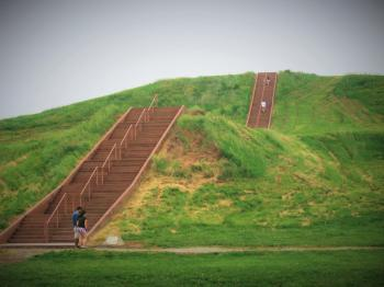 Cahokia Mounds by Kyle Magnuson
