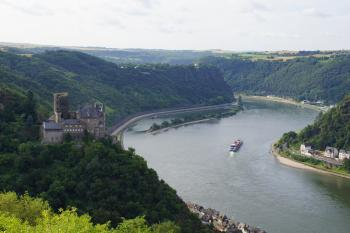 Upper Middle Rhine Valley by Hubert Scharnagl