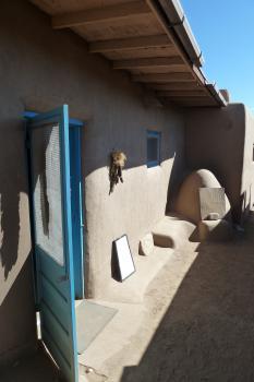 Taos Pueblo by Ian Cade