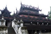 Wooden Monasteries of Konbaung Period  (T) by Solivagant