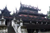 Wooden Monasteries of Konbaung Period : Ohn Don, Sala, Pakhangyi, Pakhannge, Legaing, Sagu, Shwe-Kyaung (Mandalay) (T) by Solivagant