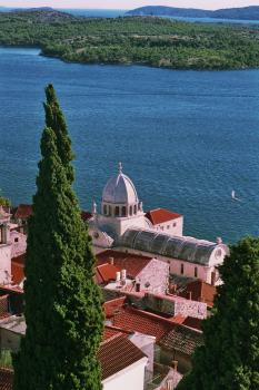 Cathedral of St. James in Sibenik by Hubert Scharnagl