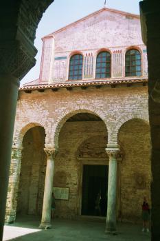 Euphrasian Basilica in Porec by Hubert Scharnagl