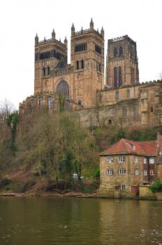 Durham Castle and Cathedral by Frederik Dawson