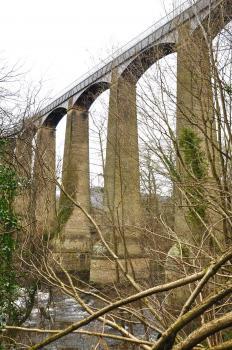 Pontcysyllte Aqueduct and Canal  by Frederik Dawson
