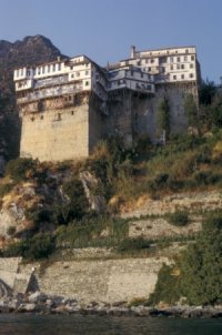 Mount Athos by Solivagant