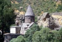 Monastery of Geghard by Solivagant