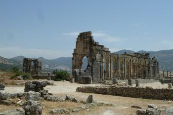 Volubilis by Ian Cade