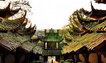 Mount Qingcheng and Dujiangyan by Frederik Dawson