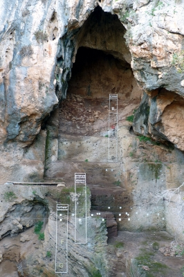 Mount Carmel Caves by Solivagant