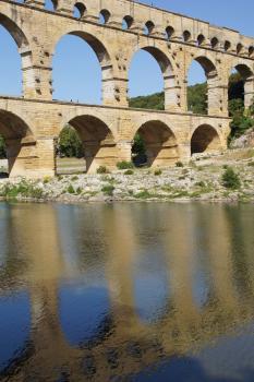Pont du Gard by Hubert Scharnagl