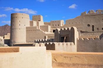 Bahla Fort by Frederik Dawson