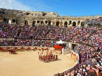 Nîmes, l'Antiquité au présent (T) by Clyde