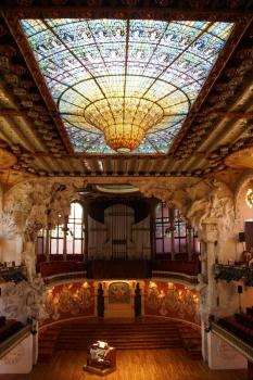 Palau de la Musica Catalana & Hospital de Sant Pau by Hubert Scharnagl
