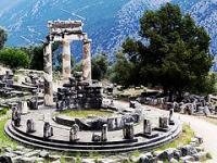Archaeological Site of Delphi by Clyde