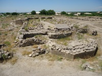The archaeological site of the city of Dvin (T) by Jarek Pokrzywnicki