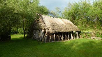 Prehistoric Pile Dwellings by Ian Cade