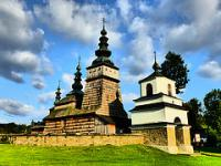 Wooden Tserkvas of the Carpathian Region by Clyde