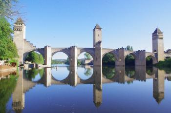Routes of Santiago de Compostela in France by Thibault Magnien