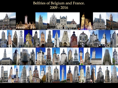 Belfries by Thibault Magnien