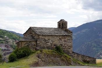 Eglises romanes d'Andorre (T) by Hubert Scharnagl